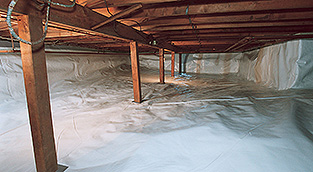 Crawl Space Waterproofing Nashville