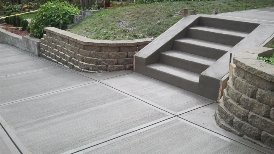 Concrete contractor nashville tn new driveways patios for How much does it cost to have a foundation poured